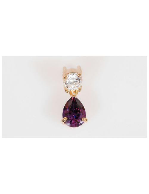 Lotus Jewelry | Женские Фиолетовые Подвески