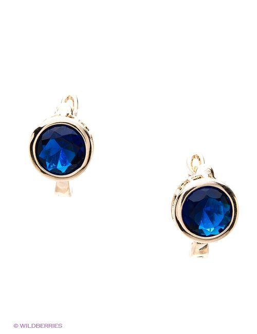 Royal Diamond   Женские Синие Серьги