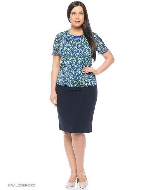Milana Style | Женские Синие Блузки