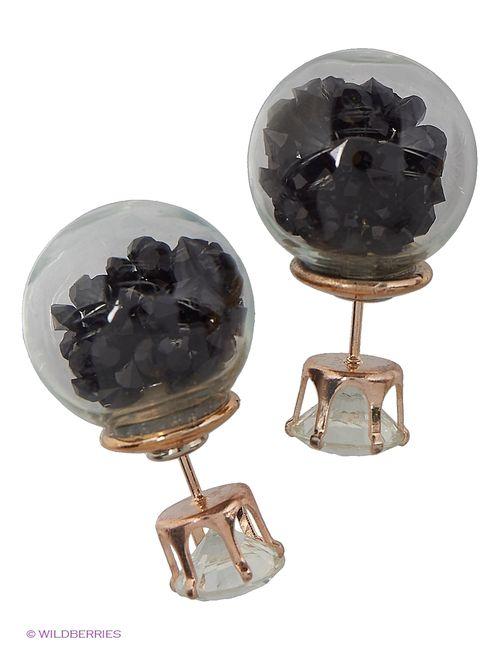 Lovely Jewelry | Женские Чёрные Серьги