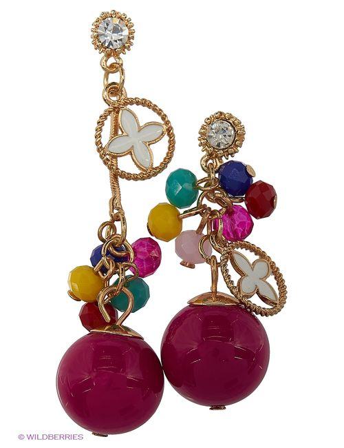 Lovely Jewelry | Женские Розовые Серьги