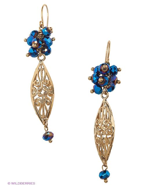 Lovely Jewelry   Женские Чёрные Серьги