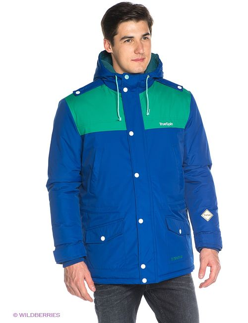 Truespin | Мужские Синие Куртки True Spin