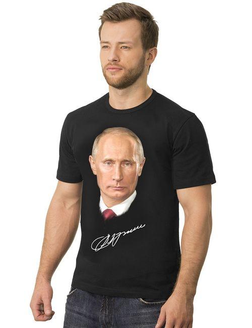 MF | Мужская Чёрная Футболка