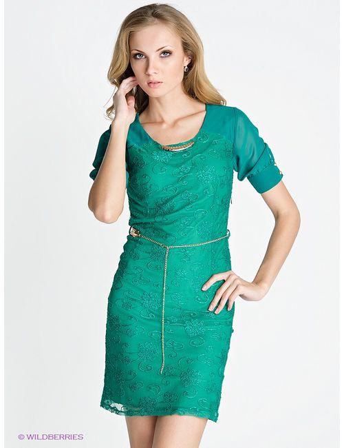 TOPSANDTOPS | Женское Зелёное Платье