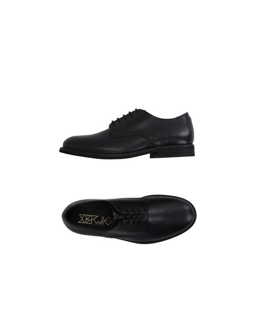 SERGIO | Мужская Чёрная Обувь На Шнурках