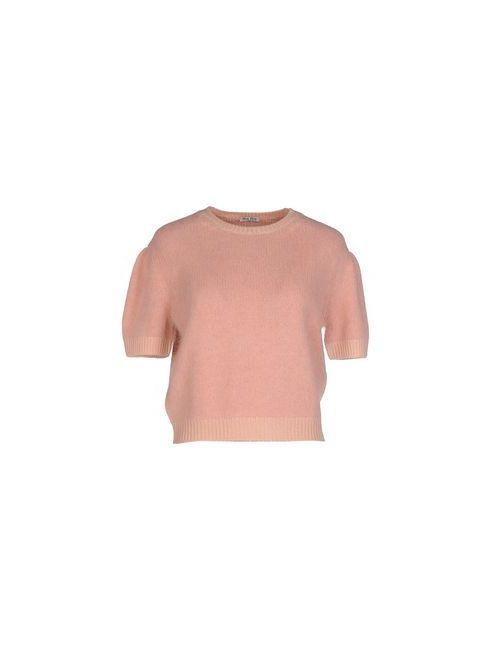 Miu Miu | Розовый Свитер