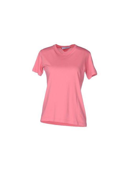 Prada | Женская Розовая Футболка