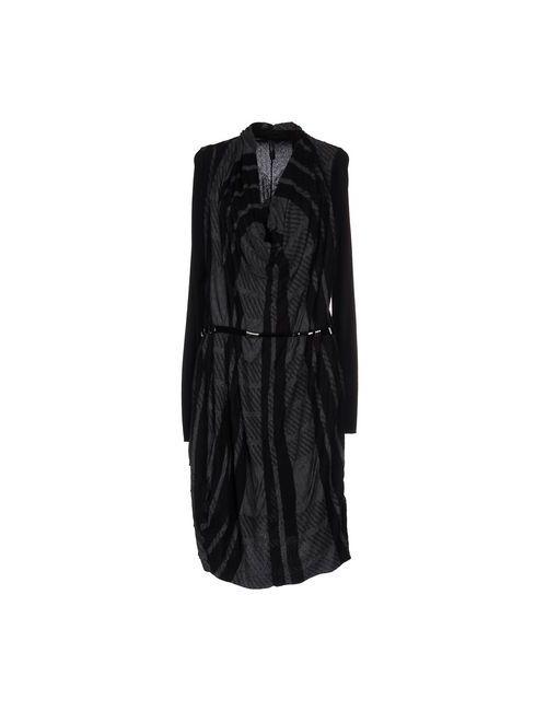 High | Женское Черный Платье До Колена