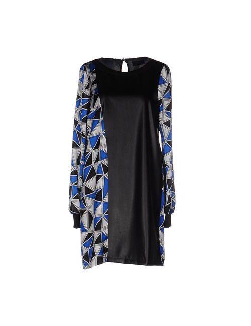 View | Женское Чёрное Короткое Платье