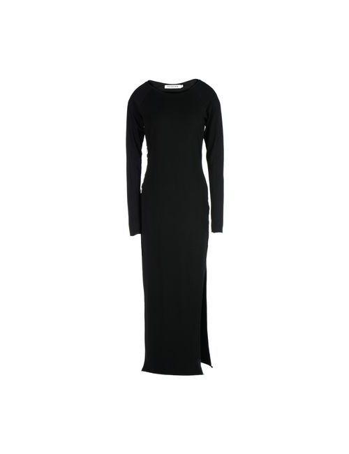 00:00:MM  MIDNIGHT METHODS/PARIS | Женское Черный Длинное Платье