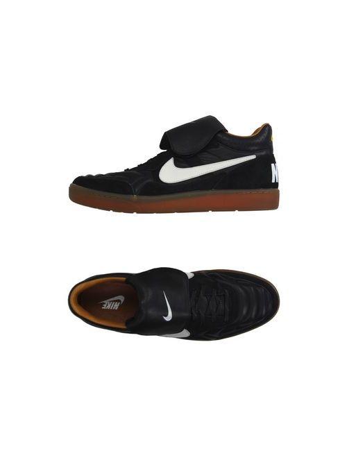 Nike | Женские Чёрные Высокие Кеды И Кроссовки