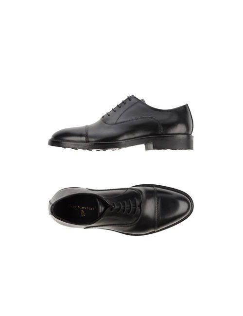 Settantatre Lr | Мужская Чёрная Обувь На Шнурках