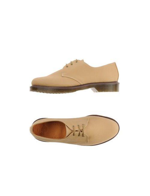 Dr. Martens | Мужская Песочная Обувь На Шнурках