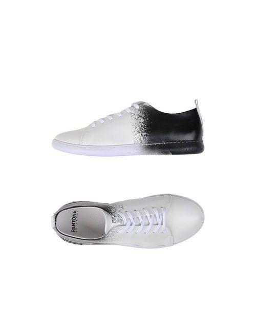 PANTONE UNIVERSE FOOTWEAR | Мужские Белые Низкие Кеды И Кроссовки