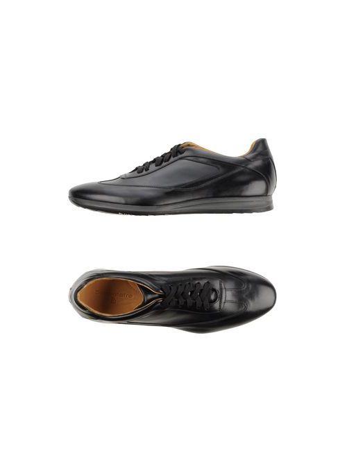 Settantatre Lr   Мужская Чёрная Обувь На Шнурках