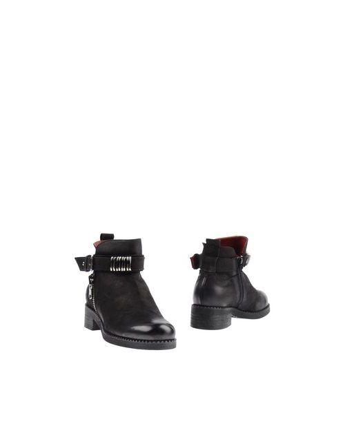 Donna Più   Мужские Чёрные Полусапоги И Высокие Ботинки