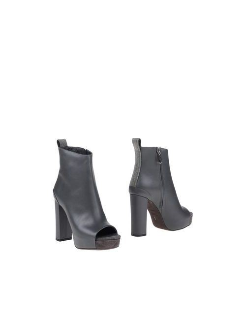 Brunello Cucinelli | Мужские Серые Полусапоги И Высокие Ботинки