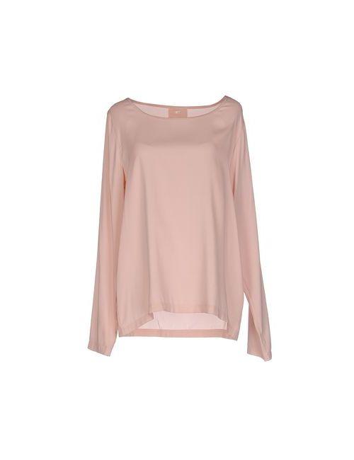 Jeff | Женская Розовая Блузка