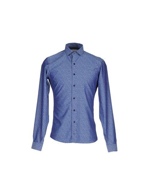 Hamaki-Ho | Женская Синяя Pубашка