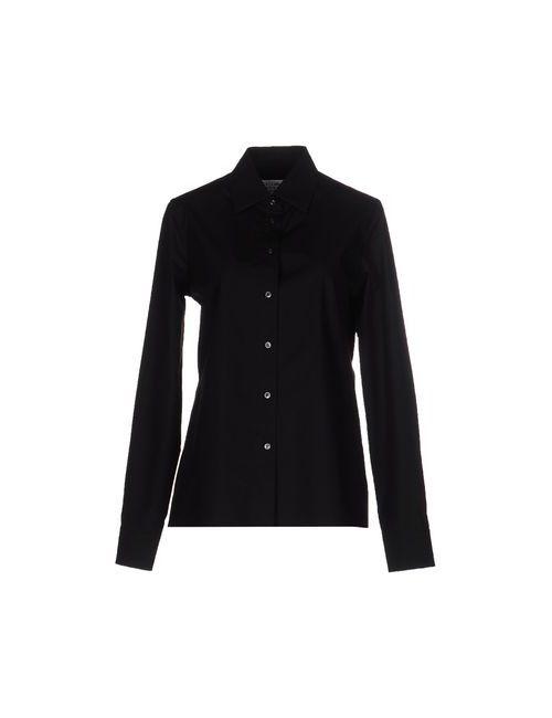 Maison Margiela | Женская Чёрная Pубашка