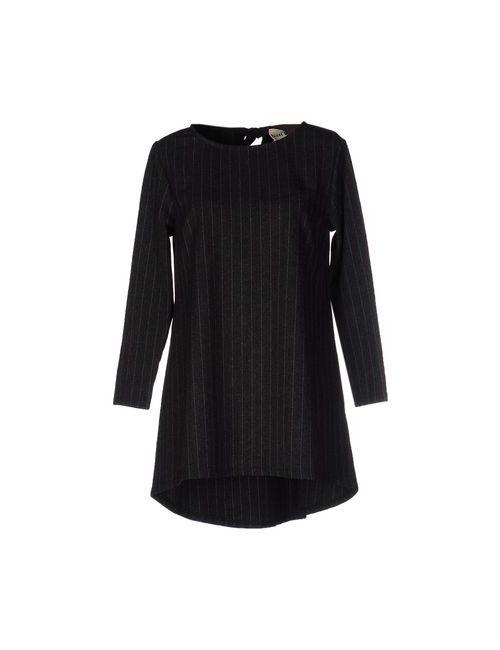 MAISON DES REVES | Женское Серое Короткое Платье