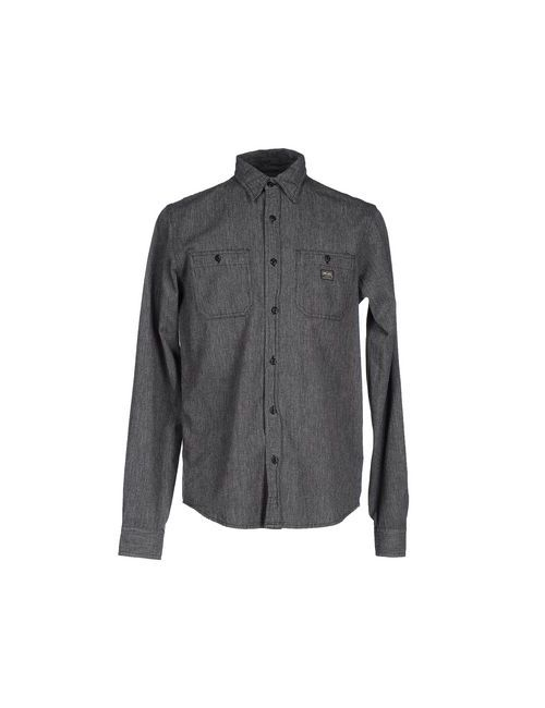 Denim & Supply Ralph Lauren | Мужская Чёрная Pубашка