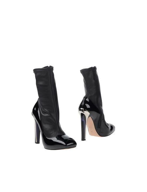 Alexander McQueen | Женские Чёрные Полусапоги И Высокие Ботинки