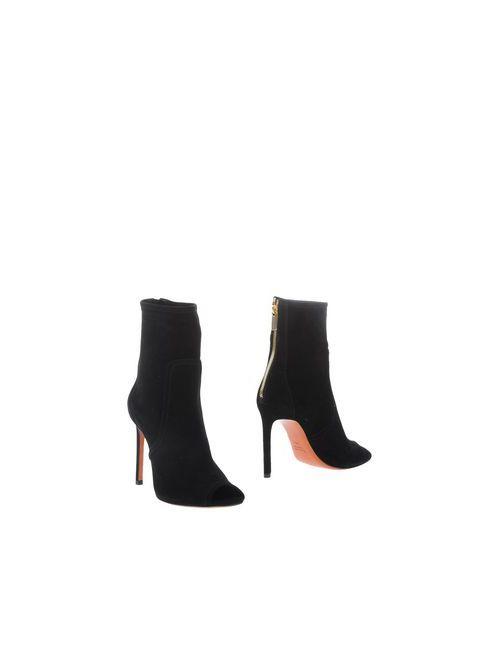 Santoni Rose | Женские Чёрные Полусапоги И Высокие Ботинки
