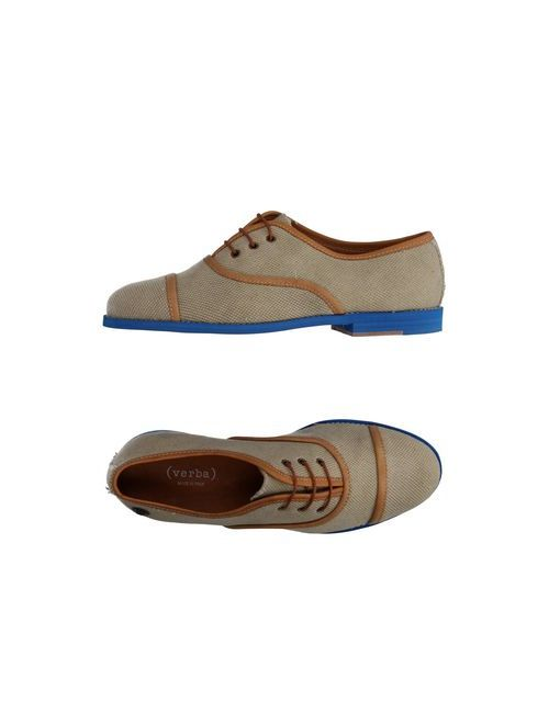 ( Verba ) | Мужская Бежевая Обувь На Шнурках