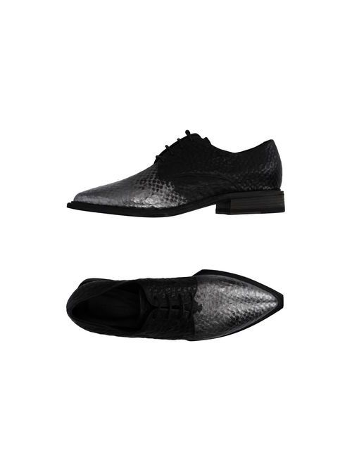VIC MATIĒ | Мужская Чёрная Обувь На Шнурках