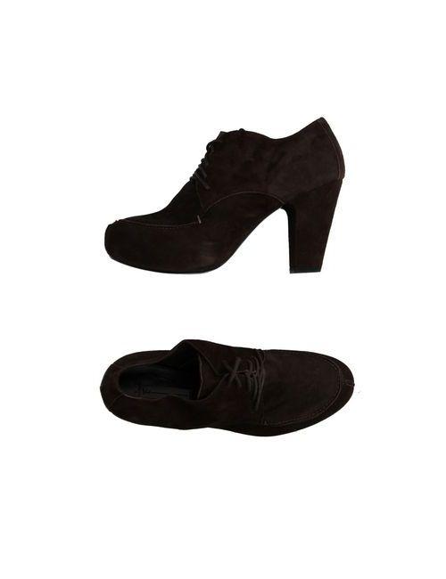 Vic | Мужская Коричневая Обувь На Шнурках