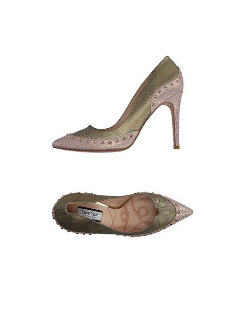 LUCY CHOI | Женские Платиновые Туфли