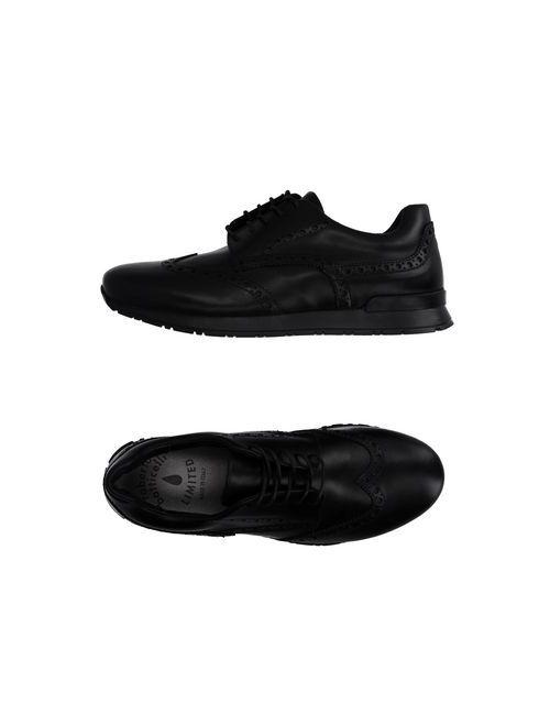 Botticelli Limited   Мужская Чёрная Обувь На Шнурках