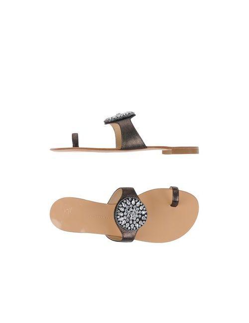 Giuseppe Zanotti Design | Женские Серые Сандалии