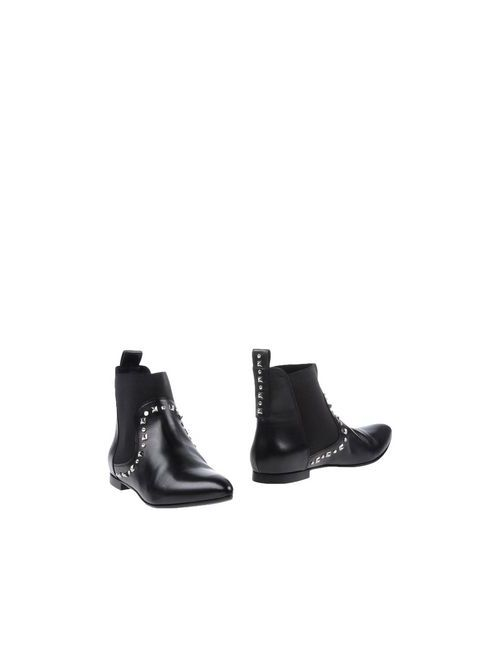 Kallistè | Женские Чёрные Полусапоги И Высокие Ботинки