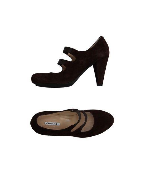 CERVONE | Женские Коричневые Туфли