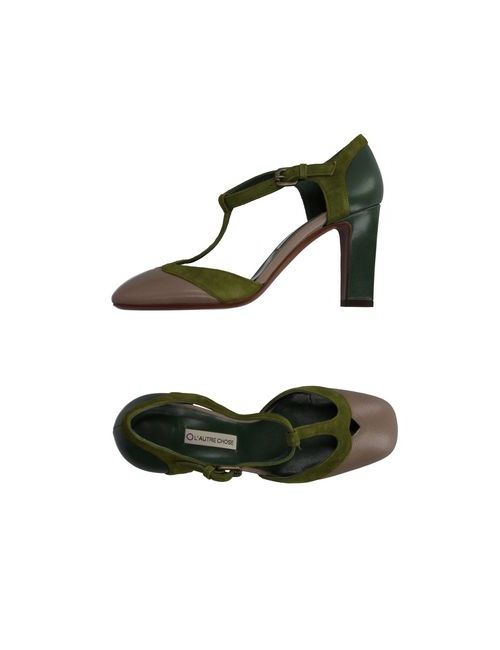 L' Autre Chose | Женские Зелёные Туфли