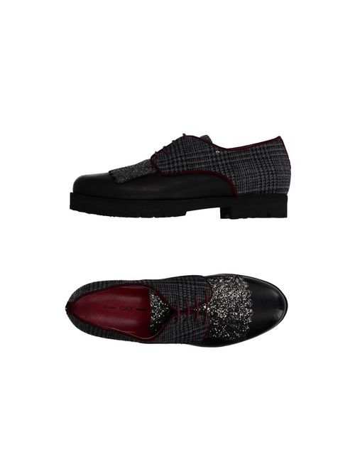 181 By Alberto Gozzi | Мужская Черный Обувь На Шнурках