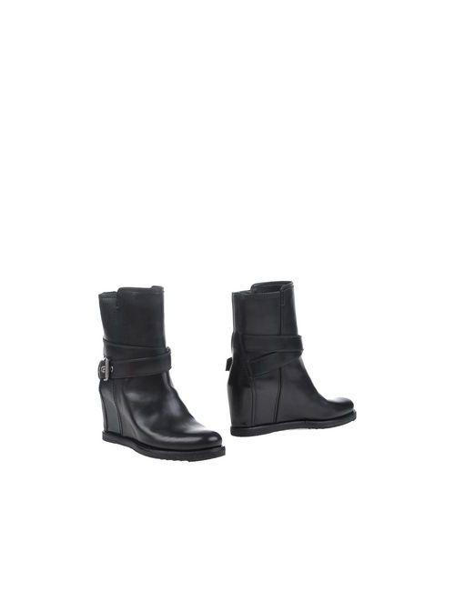 Carshoe | Женские Чёрные Полусапоги И Высокие Ботинки