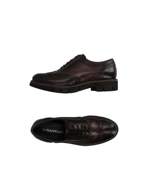 ALTRAOFFICINA   Мужская Коричневая Обувь На Шнурках