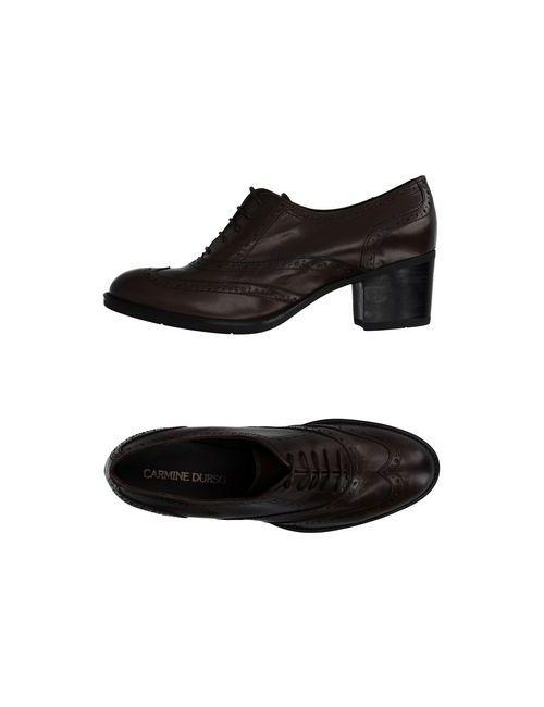 CARMINE DURSO | Мужская Коричневая Обувь На Шнурках
