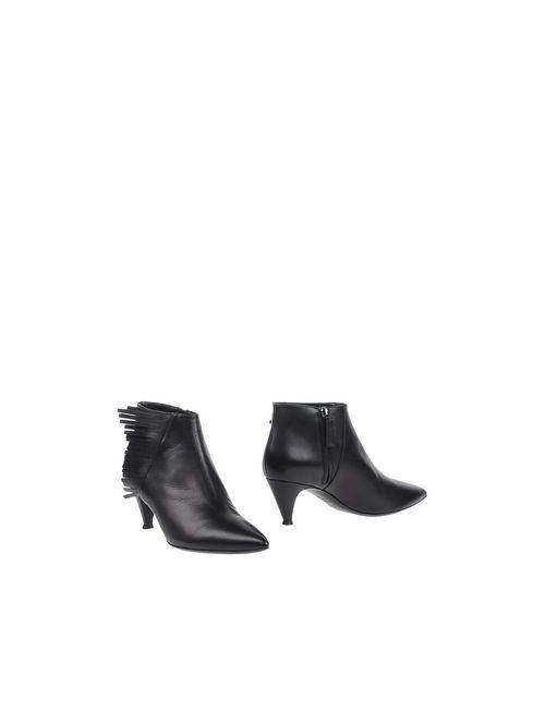 JAELLE  PARIS | Женские Чёрные Полусапоги И Высокие Ботинки