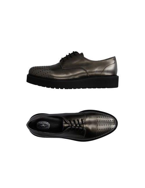 Triver Flight | Мужская Платиновая Обувь На Шнурках