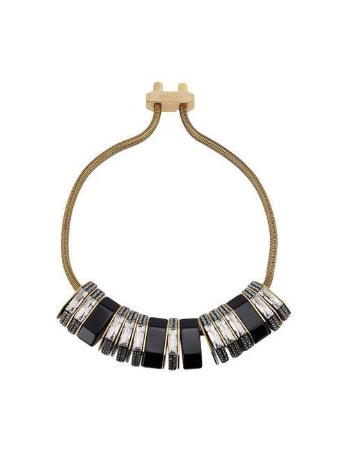 Lanvin   Женское Чёрное Ожерелье