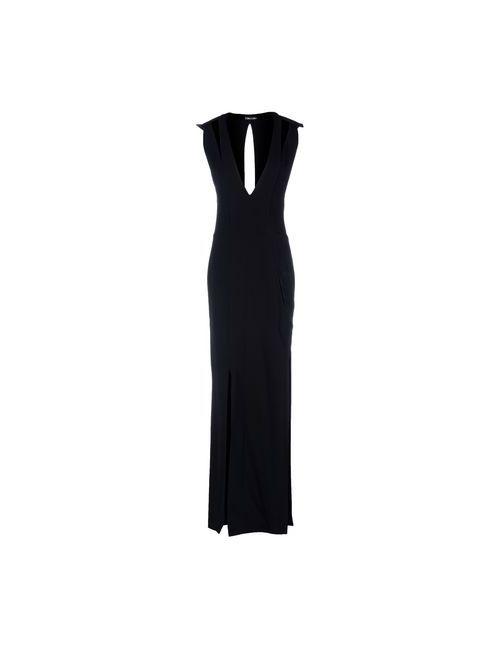 Tom Ford | Женское Чёрное Длинное Платье