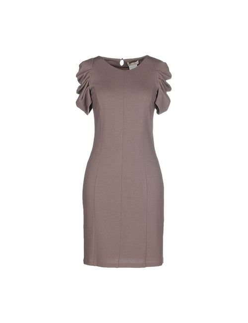 Scervino Street | Женское Коричневое Короткое Платье