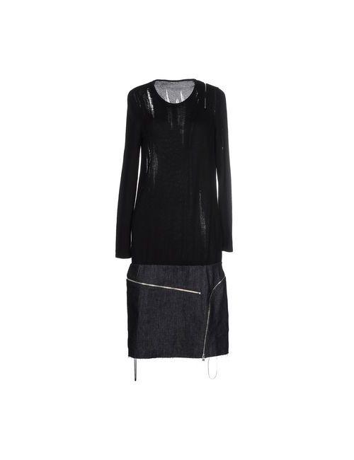 Jay Ahr | Женское Чёрное Платье До Колена