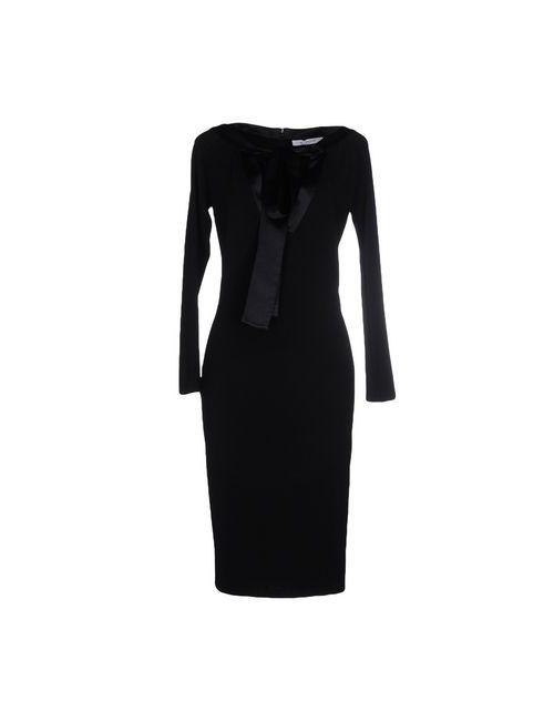 Givenchy | Женское Черный Платье До Колена