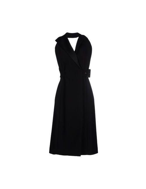 Balenciaga | Женское Чёрное Платье До Колена